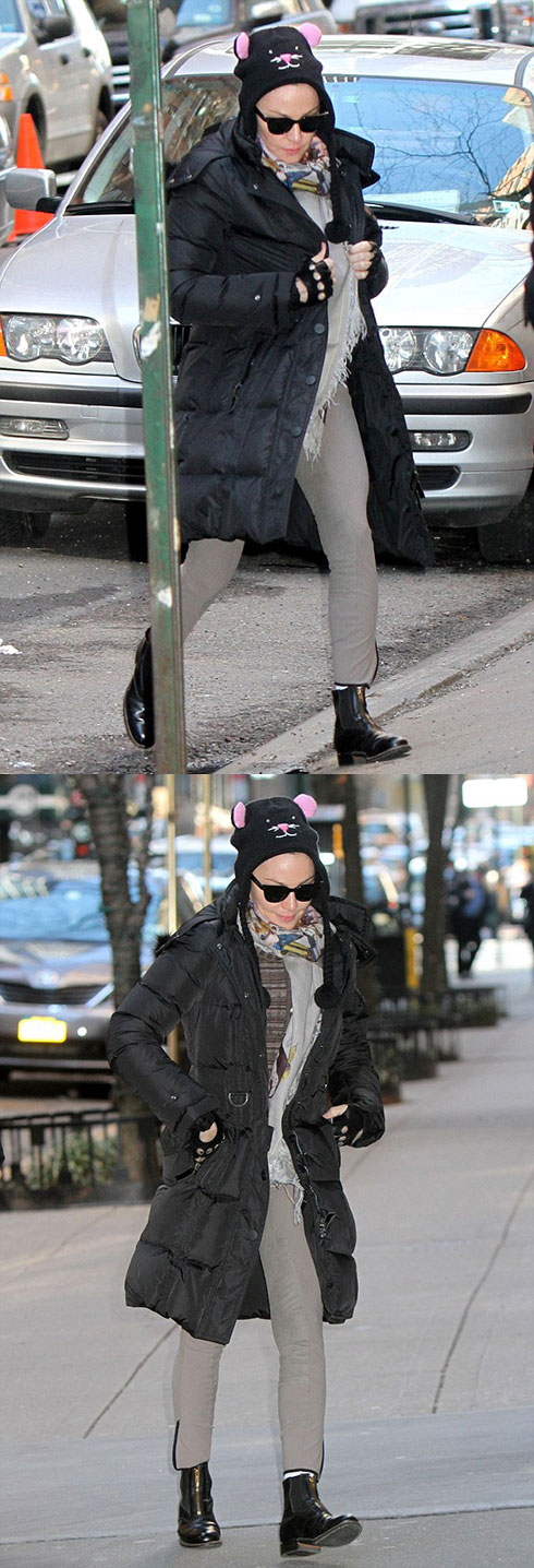 Мадонна в Нью-Йорке (9 марта 2013)