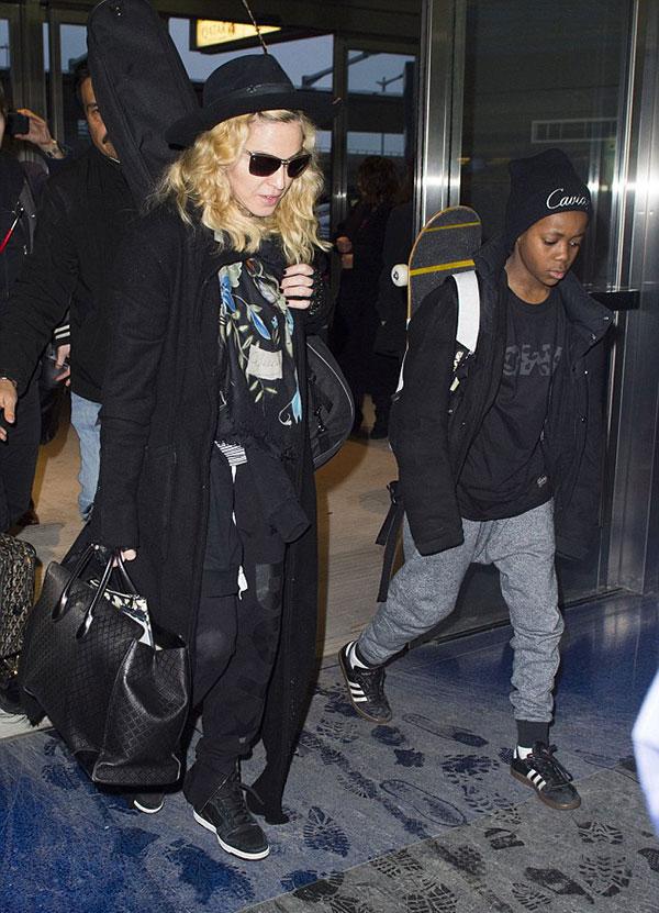 Мадонна в Нью-Йорке (14 марта 2015)