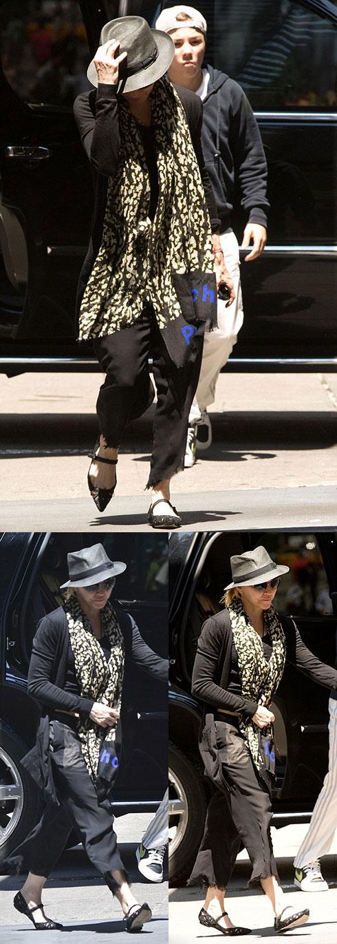 Мадонна в Нью-Йорке (16 июня 2013)